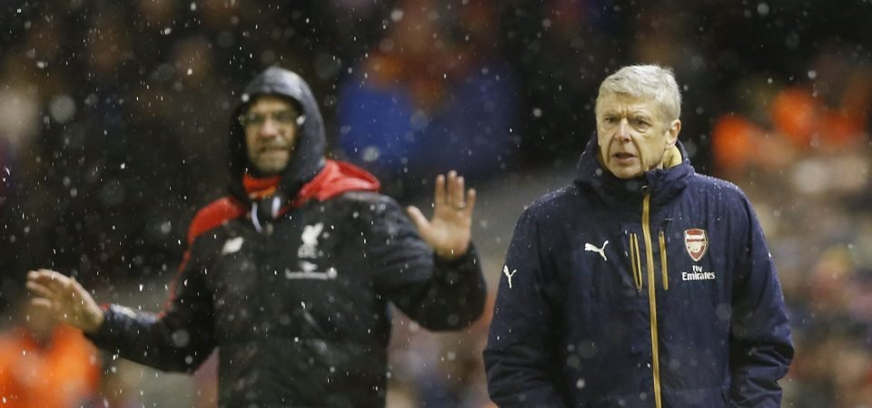 Liverpool fans tweet respect to Wenger following Arsenal exit
