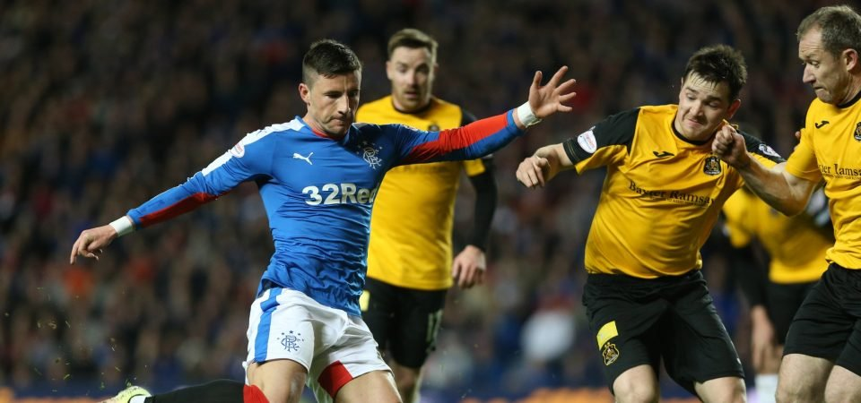 Rangers fans are hoping to see more of Michael O'Halloran after return