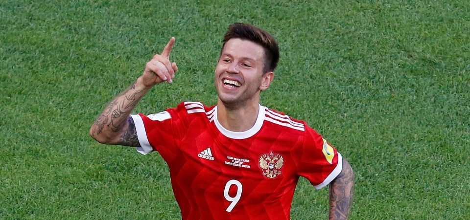 West Ham fans furious as club distances themselves from Russian striker Fedor Smolov