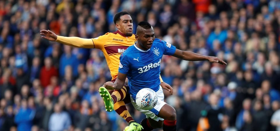 Rangers fans urge club to hold firm on potential Alfredo Morelos departure