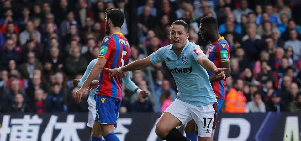 Javier Hernandez is a bad fit at West Ham, he must be sold