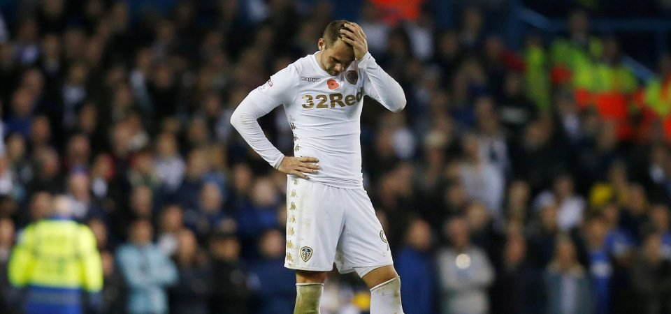 Leeds fans are upset with Lasogga after shock FA Cup defeat