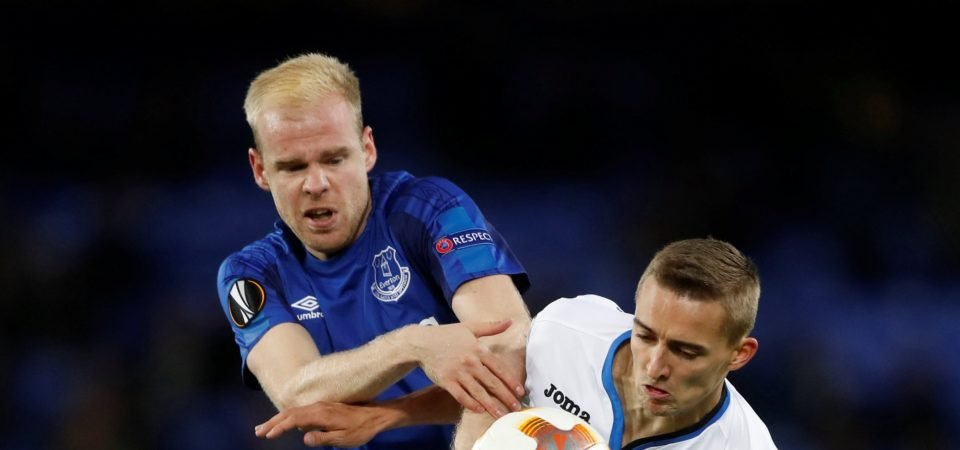 Everton fans are not happy with potential Davy Klaassen exit on deadline day