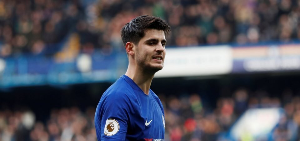 Chelsea fans are hoping for a big Alvaro Morata performance vs Leicester