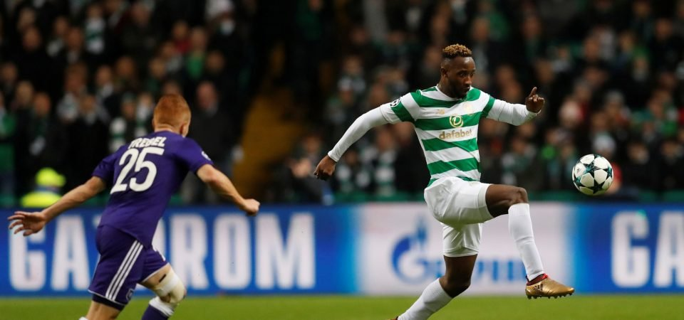 Celtic fans pay tribute to Moussa Dembele after dominant performance