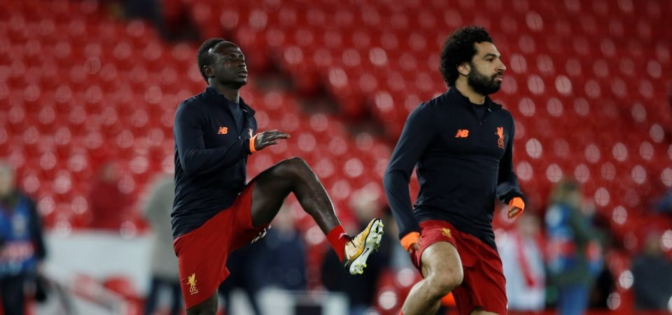 Mane denies rumours of rift with Liverpool teammate Mohamed Salah