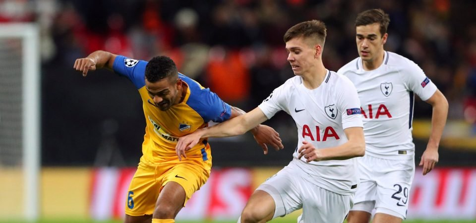 Tottenham Hotspur fans pleased with Juan Foyth after big FA Cup chance