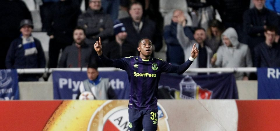 Everton fans react to possibility of Lookman leaving on loan