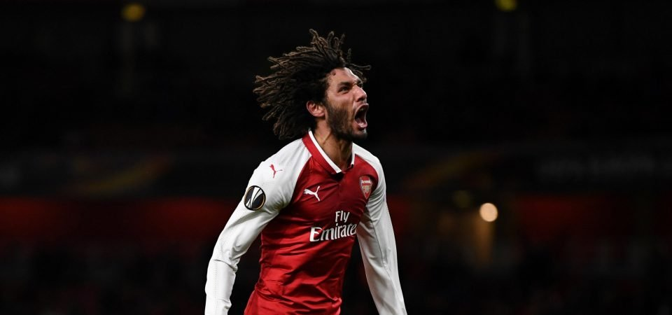 Arsenal fans loved Elneny's cup performance against Chelsea
