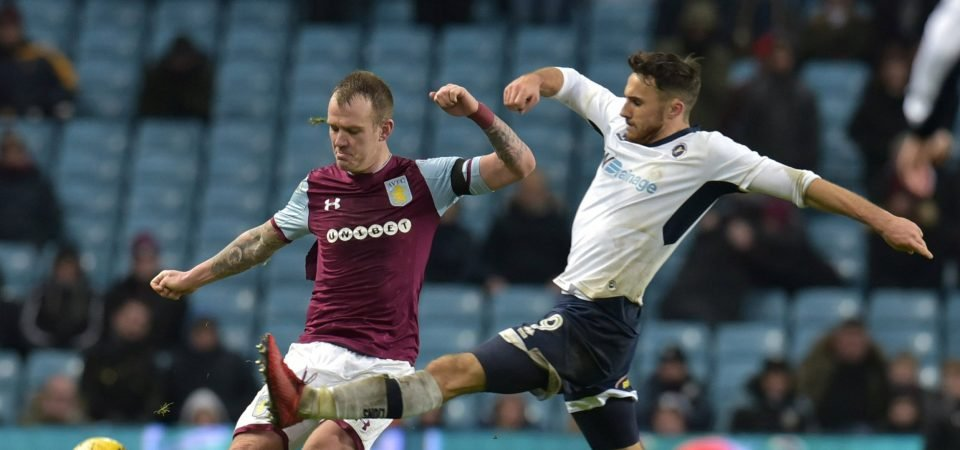 Aston Villa fans frustrated by Whelan, Terry starts against Forest