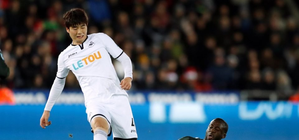 West Ham fans react as club want Ki Sung-Yueng to be part of Ayew to Swansea deal