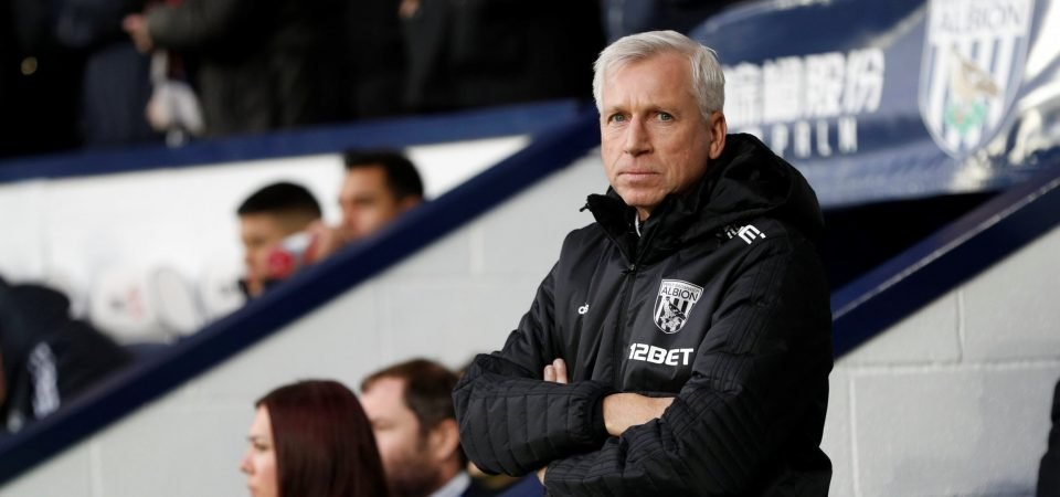 Newcastle fans react to incident involving Pardew and some of his West Brom players