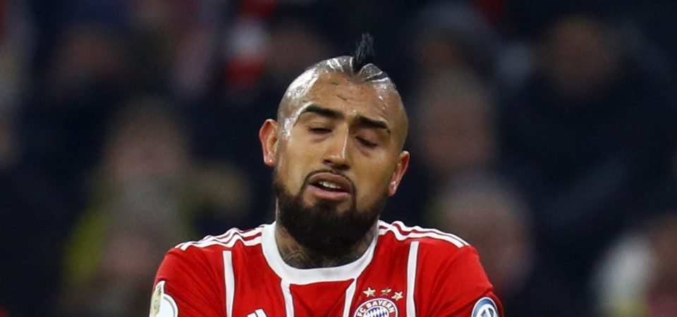 In Focus: Chelsea moving for Bayern Munich's Vidal at the wrong time