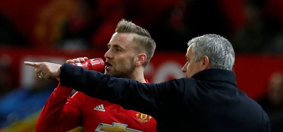Revealed: Majority of Man United fans think Luke Shaw should be the first-choice left-back