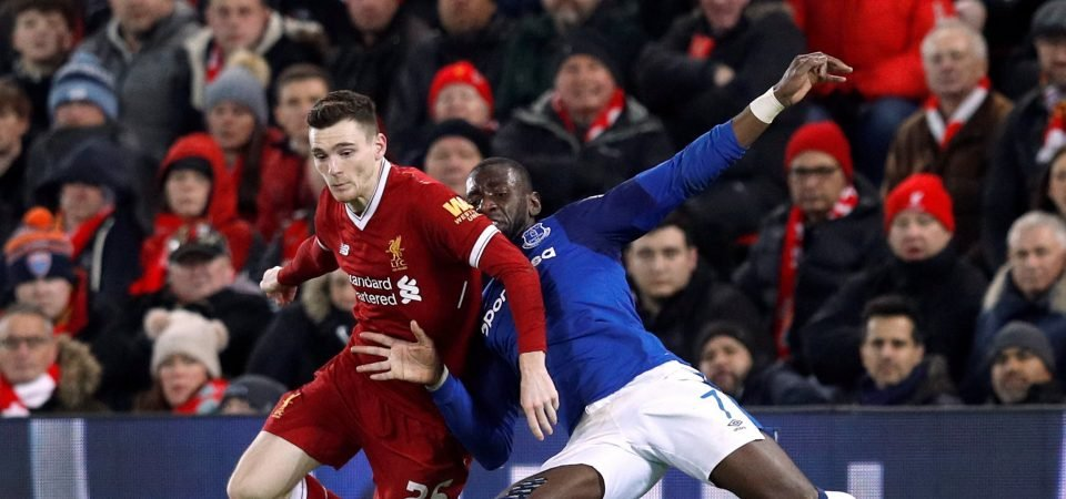 Liverpool fans praise Andrew Robertson after Everton win