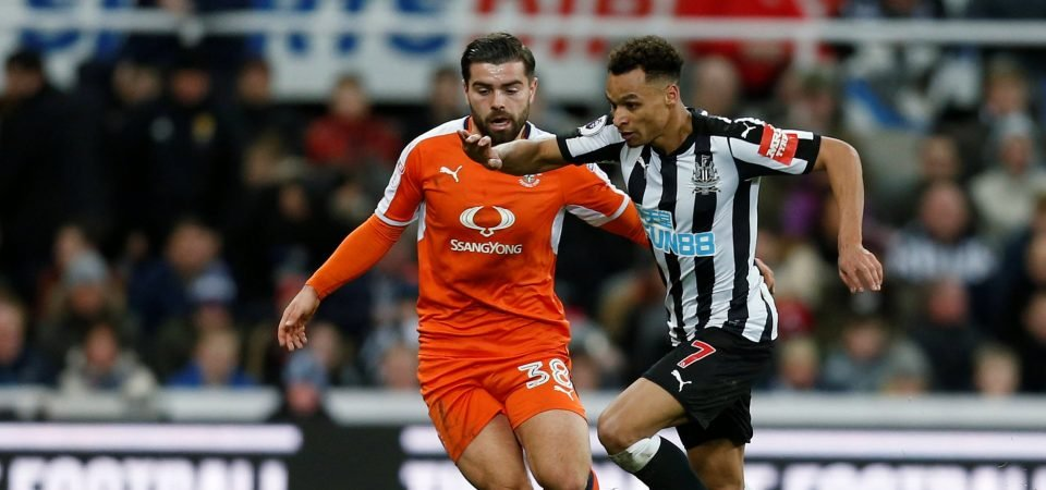 Newcastle fans were delighted with Jacob Murphy's performance in cup win