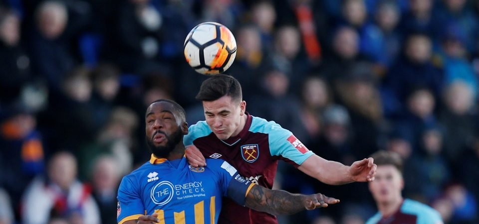 West Ham fans pleased with Josh Cullen performance despite cup draw