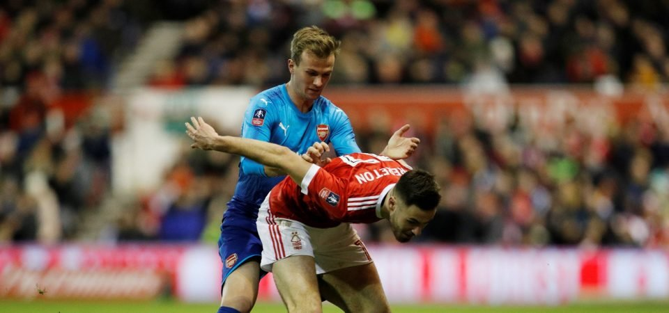 Arsenal fans slate Rob Holding after shocking FA Cup defeat