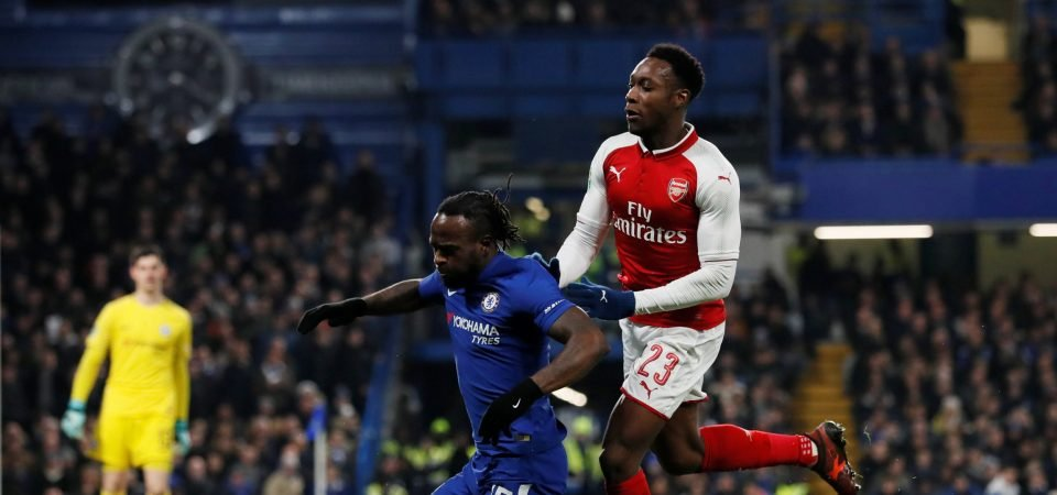 Arsenal fans demand Danny Welbeck doesn't start against Bournemouth