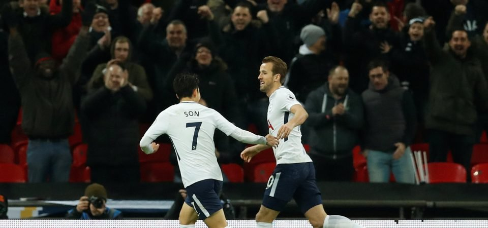 Tottenham Hotspur star Son suggests he will not be knocking on Kane's door