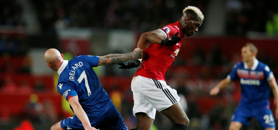 Paul Pogba delivers passing masterclass as Man United get the job done against Stoke