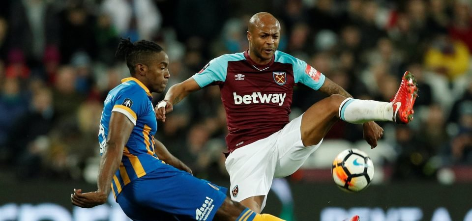 West Ham United fans react to club's rejection of £14m Ayew bid