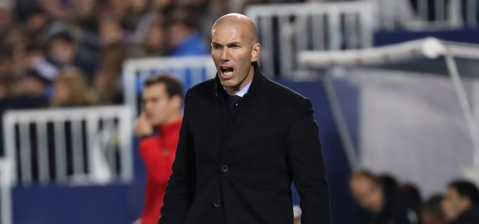 Chelsea fans believe Zinedine Zidane could be set to replace Antonio Conte