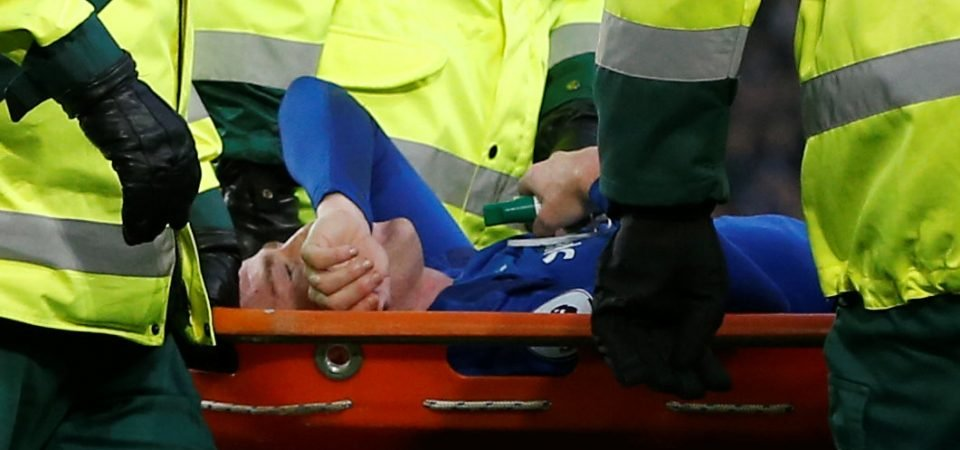 Everton's injured McCarthy receives support from Barcelona star