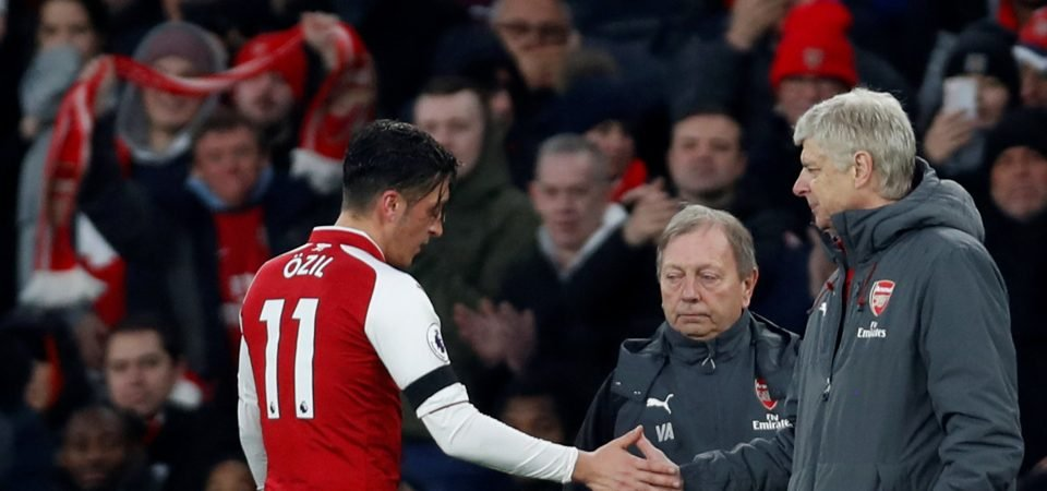 Arsenal fans beg Ozil to commit his future to the club