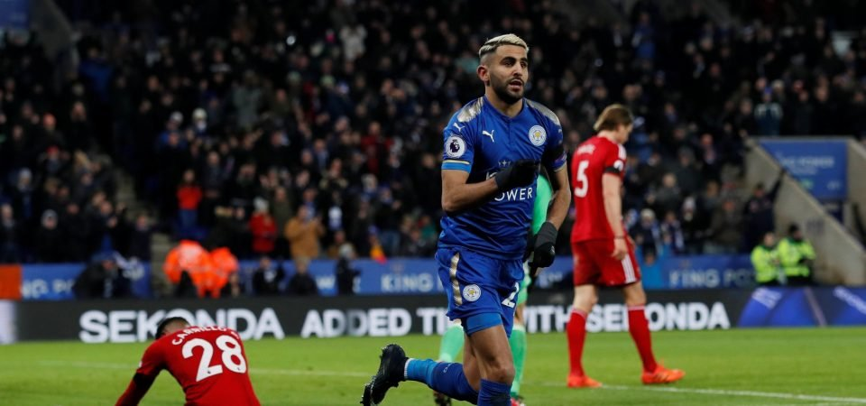Tottenham fans urge club to sign Riyad Mahrez after transfer request