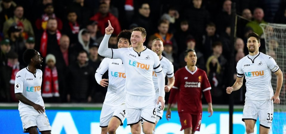Liverpool fans urge club to buy Alfie Mawson after he scores against them