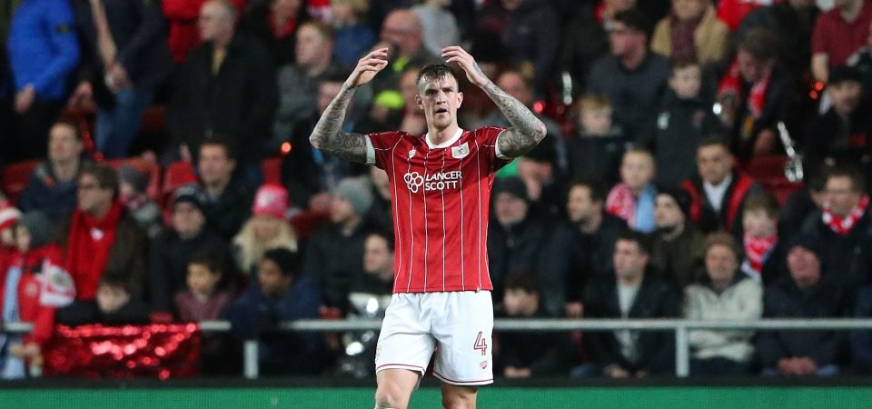 Leeds fans urge club to sign Aden Flint after latest Bristol City display