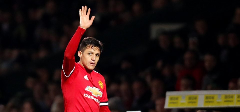 Manchester United fans hit out at Yeovil over tweet about Sanchez