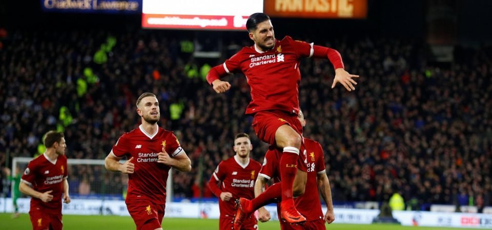 Liverpool fans plead with Emre Can to stay at club following Huddersfield performance