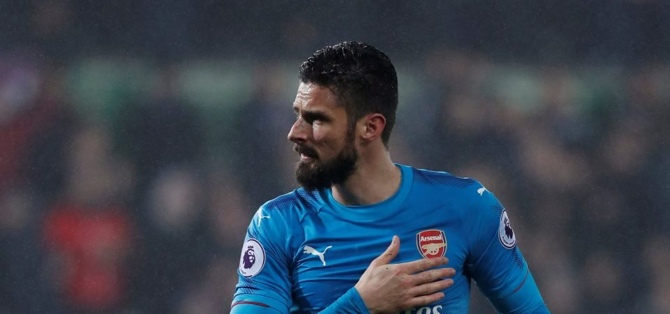 Chelsea fans are not happy with potential Olivier Giroud signing