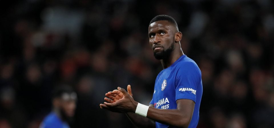Revealed: 88% of Chelsea fans want Rudiger to start ahead of Cahill for Man United clash