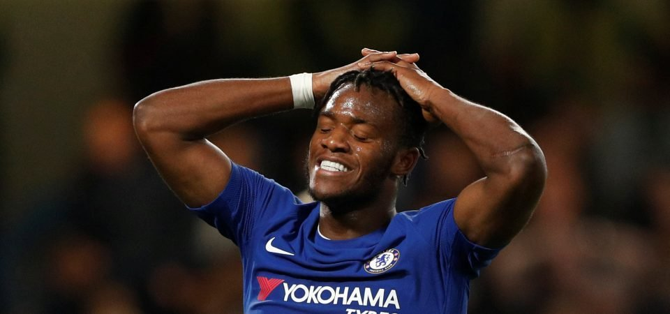 Batshuayi will never arrest his front-man flaws while he's stuck behind Alvaro Morata