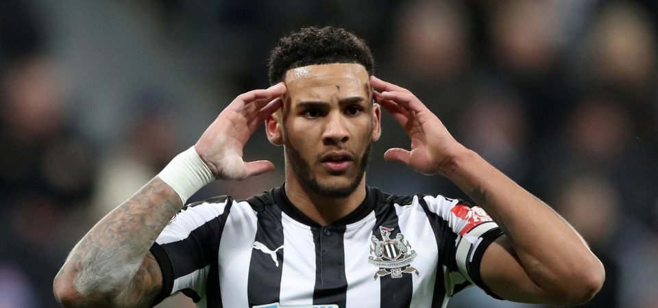 Newcastle United's Lascelles admits he almost hit back at pundits on Twitter