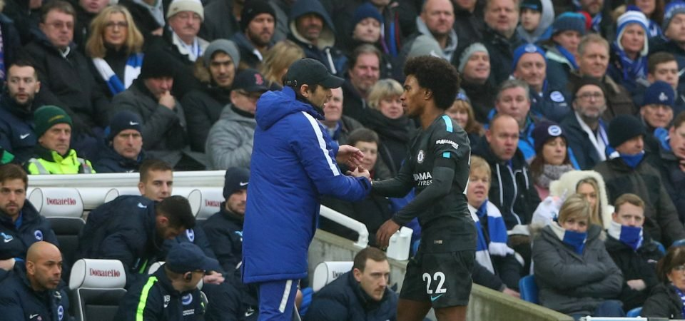 Willian's emphatic display raises questions over Conte's persistent use of 3-5-2