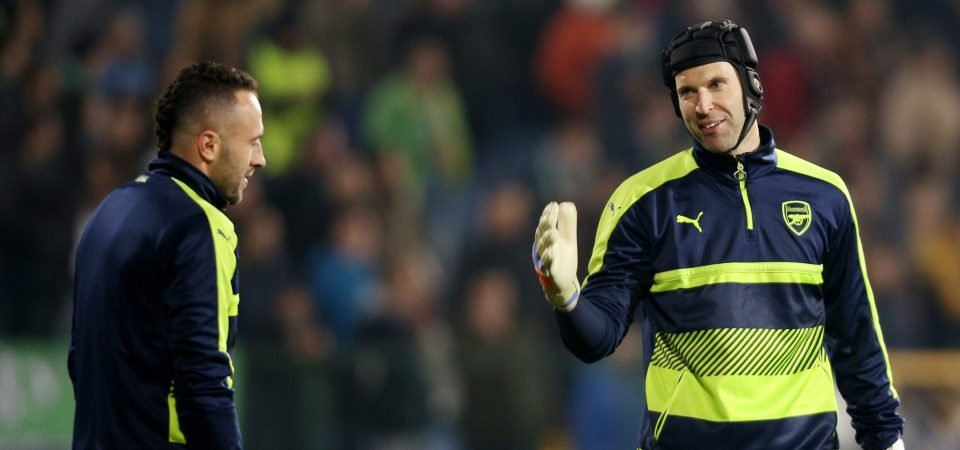 Arsenal fans debate about Cech, Ospina ahead of derby showdown
