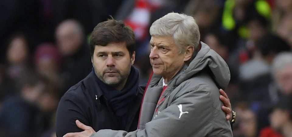 Tottenham Hotspur fans could not care less about finishing above Arsenal