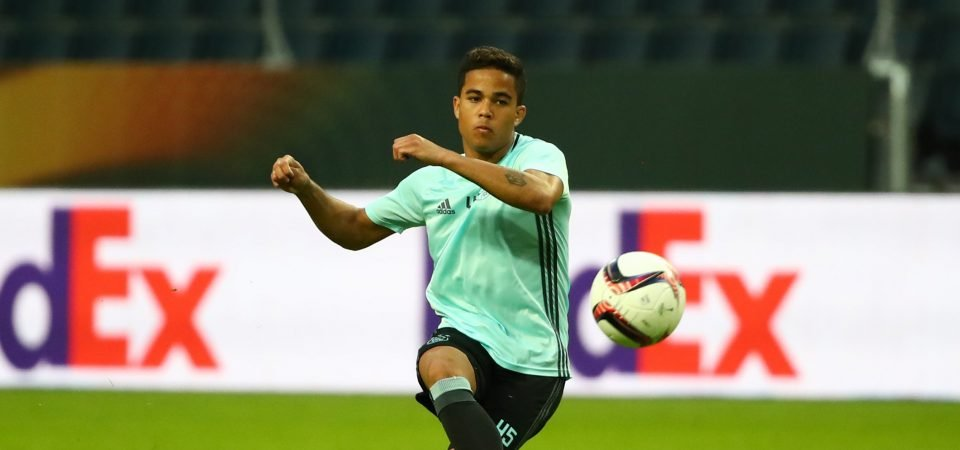 Ronald Koeman tells Ajax star Justin Kluivert to ignore Manchester United interest