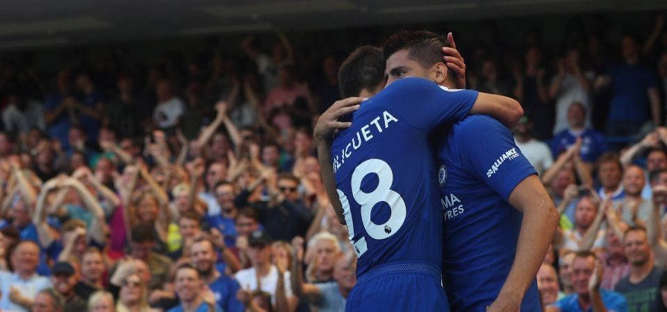 Chelsea fans pleased with Morata return