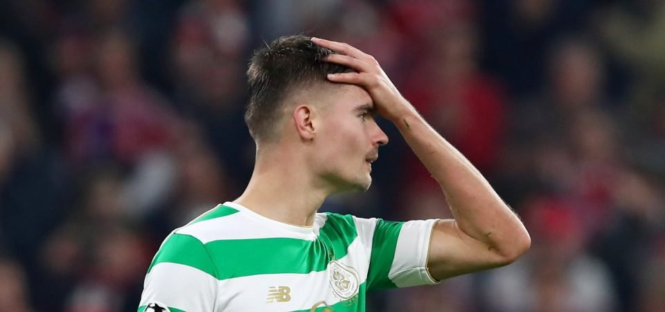 Celtic fans have completely lost patience with Mikael Lustig