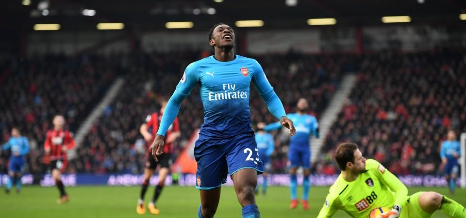 Arsenal fans think either Welbeck or Nkeitah need to step up