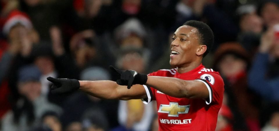 Revealed: 76% of Man Utd fans want Martial to replace Mata for Chelsea clash