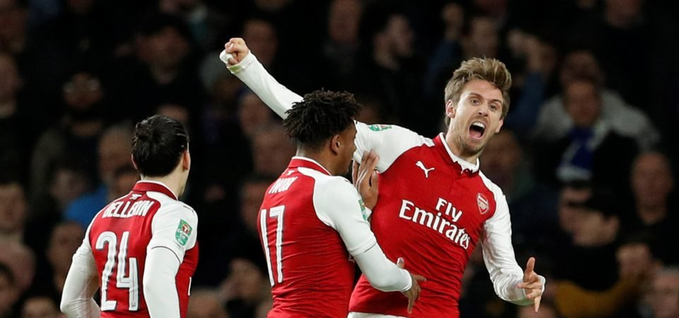Revealed: 55% of Arsenal fans wouldn't start Monreal at LB vs Spurs
