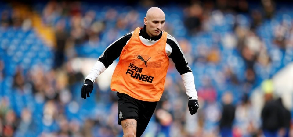 Newcastle fans are looking for more from Jonjo Shelvey