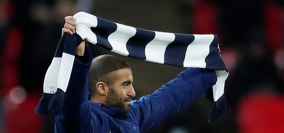 Tottenham fans react as Lucas Moura in contention to play in North London Derby