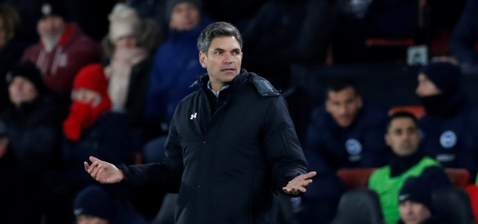 Southampton fans want Marco Silva to replace Pellegrino after Brighton draw